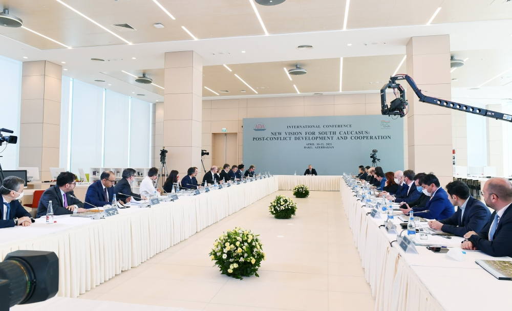 President Ilham Aliyev: I had a strong feeling during negotiations that Armenia doesn't want a solution